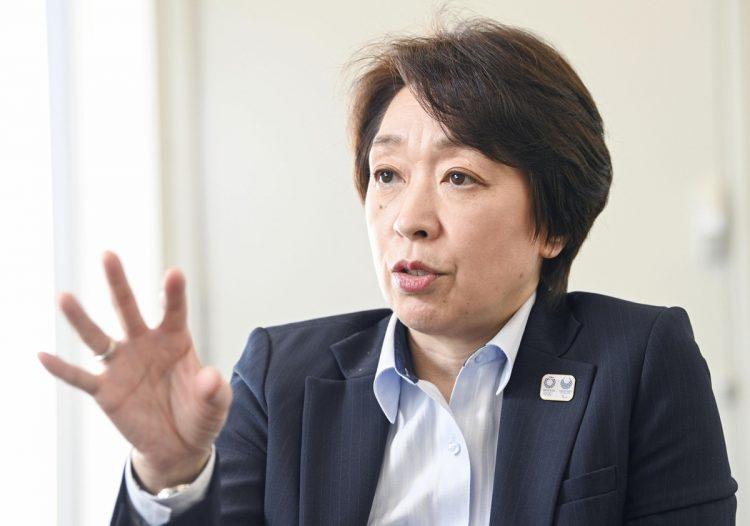 組織委員会の橋本聖子会長(写真/共同通信社)