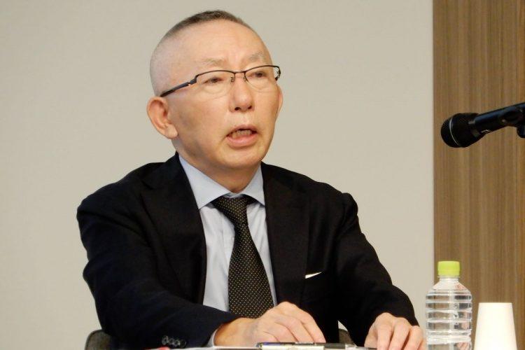 ユニクロを展開するファーストリテイリングの創業社長、柳井正氏(時事通信フォト)