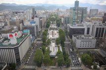 五輪のマラソンや競歩が行われる北海道札幌市(大通り公園周辺/時事通信フォト)