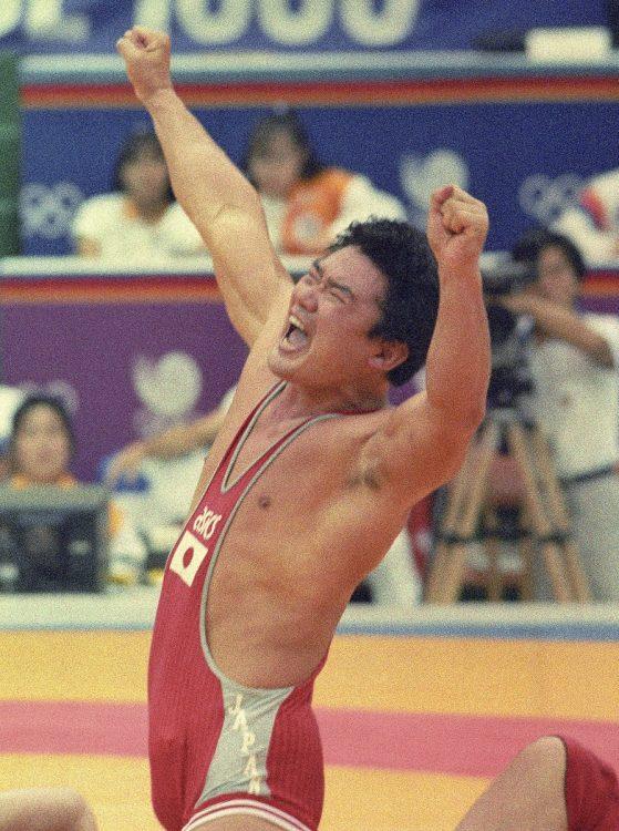 日本初の重量級メダリストとなった太田章さん(写真/共同通信社)