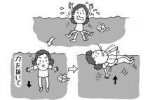水難事故に遭ったらどうすればいい?溺れないための「状況別対処法」