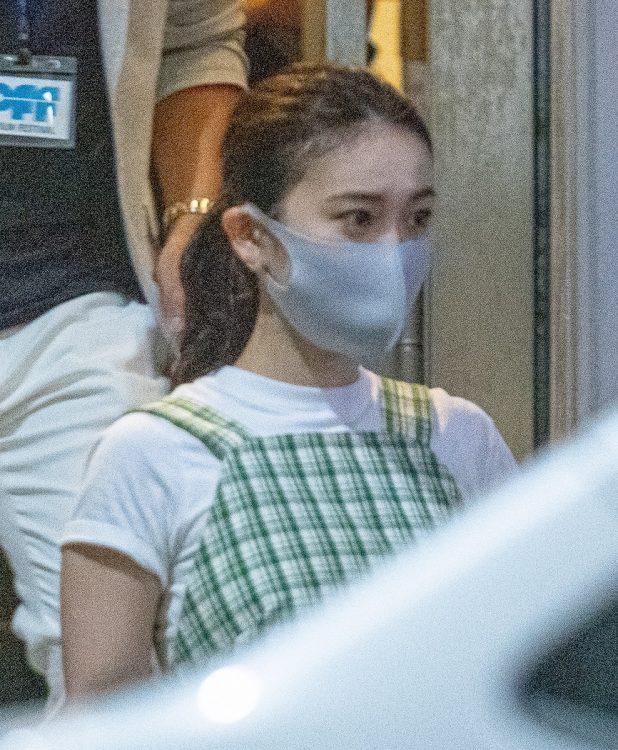 結婚を発表した大島優子を目撃