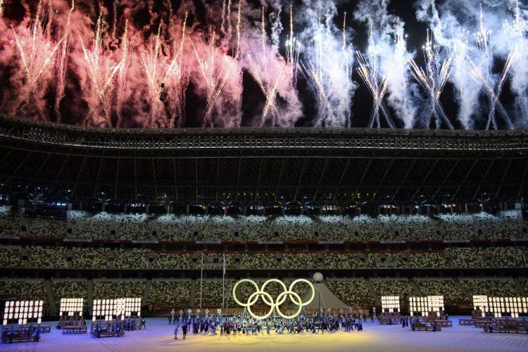 東京五輪、なかでも開会式に関わる人たちの過去が次々と問題になった(イメージ、dpa/時事通信フォト)
