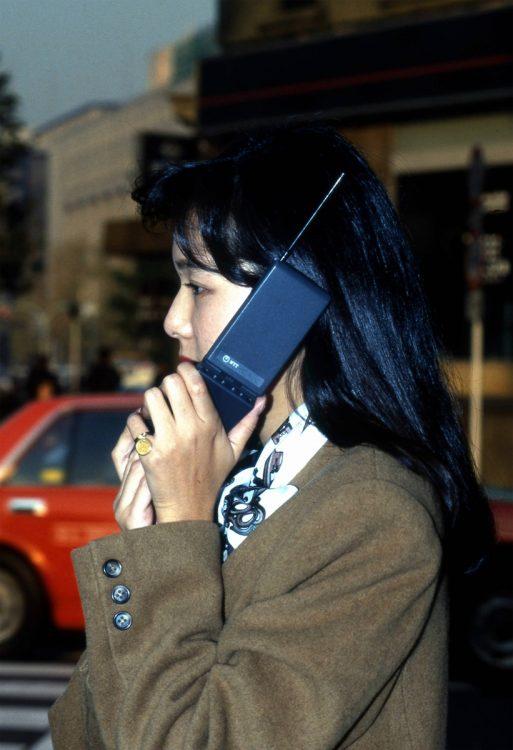 バブル期の携帯電話