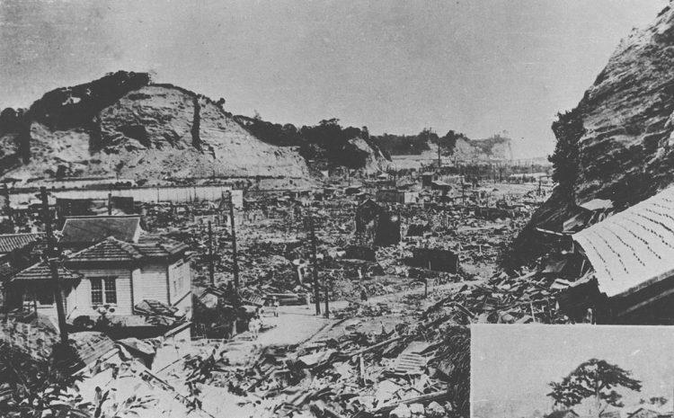 関東大震災の震源は相模湾海底だった(時事通信フォト)