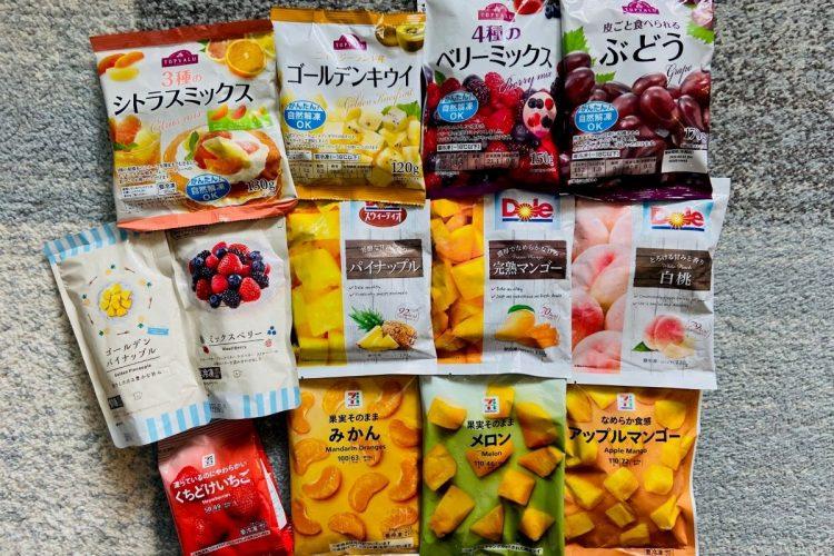 コンビニ各社から続々と発売される「冷凍フルーツ」