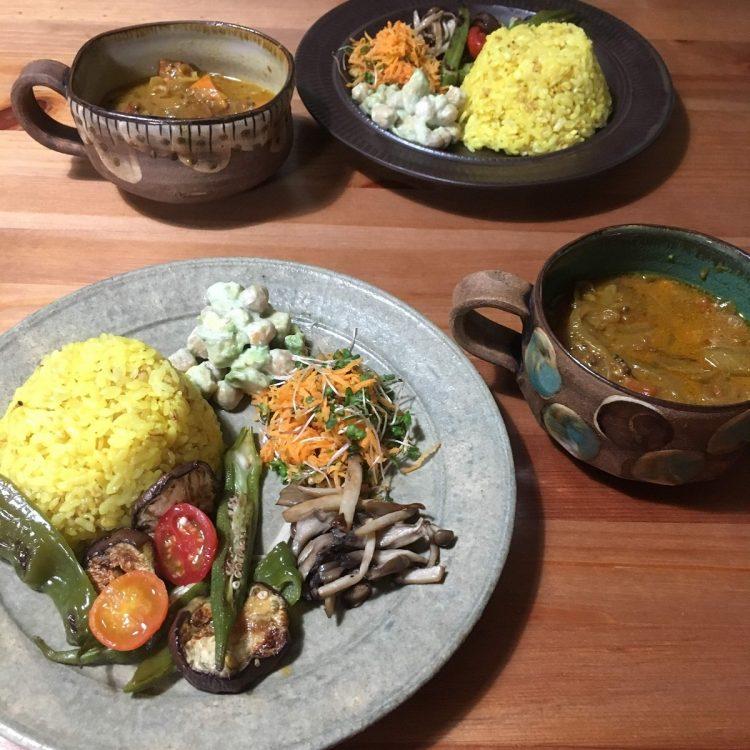 松永さんの体調を考えて、真菜さんは毎日ヘルシーでおいしい料理を作ってくれた。松永さんが特に好きだったスパイスから作る本格的な真菜さんのカレー(松永さん提供)。