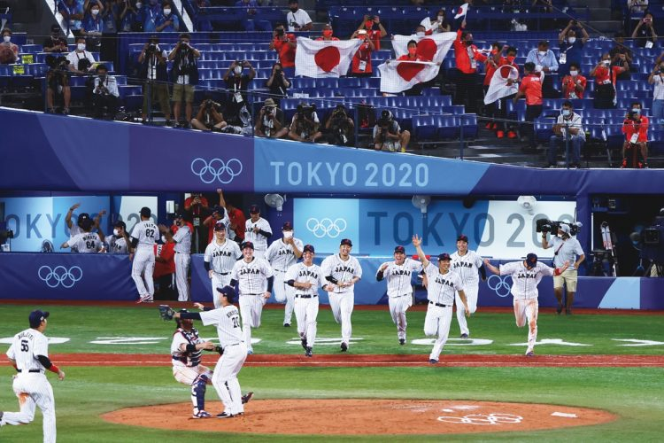 野球は初の金メダル獲得(写真/日本雑誌協会代表撮影:真野慎也)