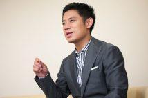22日スタートのドラマ『白い濁流』(NHK BSプレミアム)の舞台裏を語った。