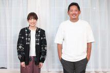 フリー後初の主演映画に挑んだ福田沙紀と、入江監督(撮影:小倉雄一郎)