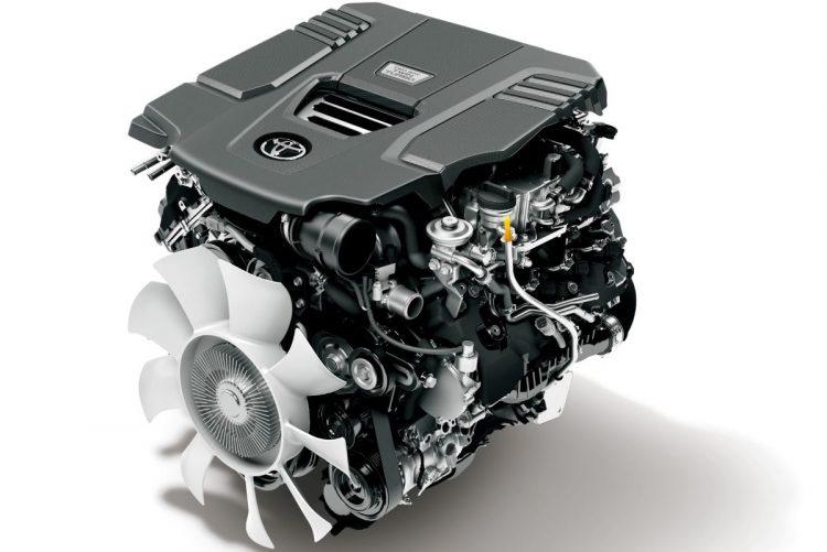 トヨタ「ランドクルーザー300」のエンジン