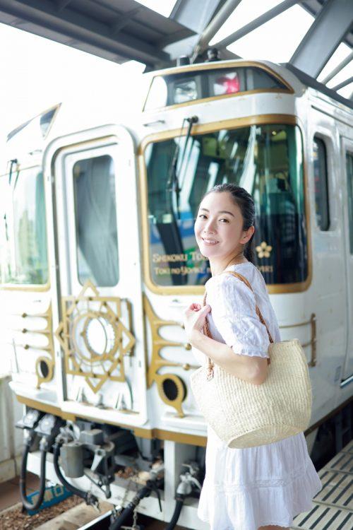園都が四国の観光列車を体験