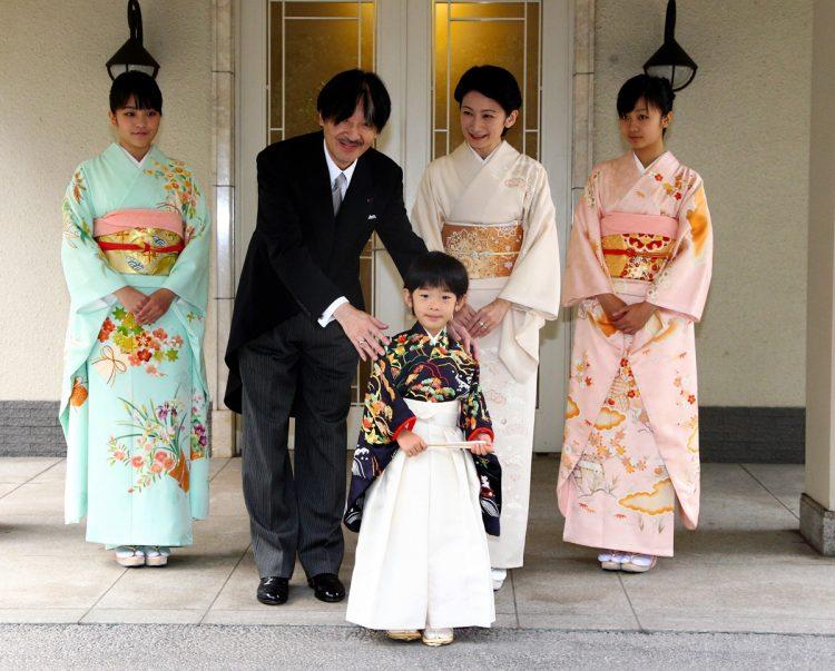 着袴の儀の際