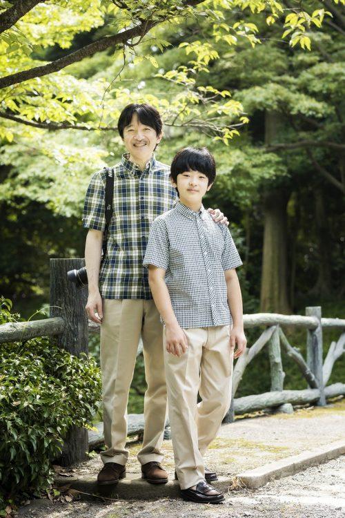 秋篠宮さまに写真の構図などを教わったという
