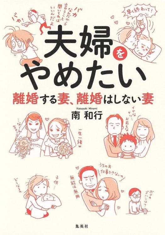 『夫婦をやめたい 離婚する妻、離婚はしない妻』著・南和行