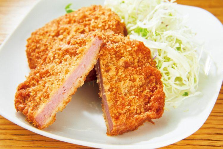 「まるでお肉! 大豆ミートのハムカツ」(伊藤ハム)