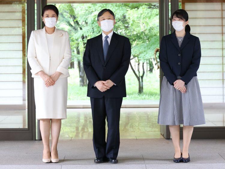 皇居・御所に引っ越しをされた(9月6日、東京・千代田区=撮影/JMPA)