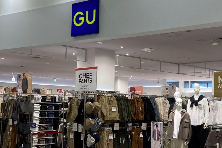 親子でGUを訪れるファミリーも増えている