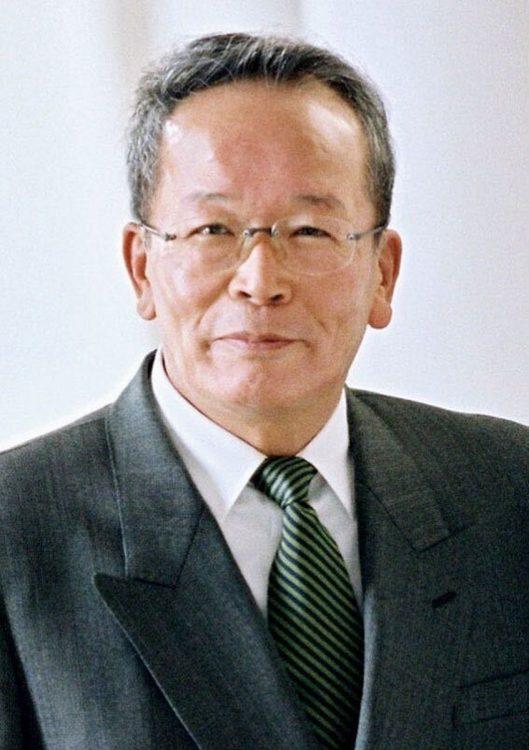 「さよならコロナシール」を発案した群馬県・太田市長の清水聖義氏(写真/共同通信社)