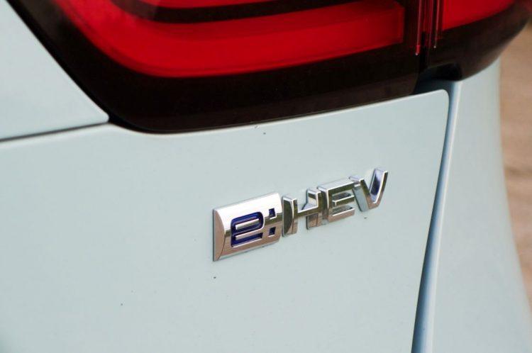 2モーター式ハイブリッド、e:HEVのロゴ