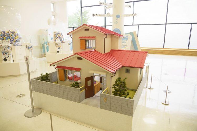 5分の1スケールで再現された「のび太の家」も! (C)Fujiko-Pro