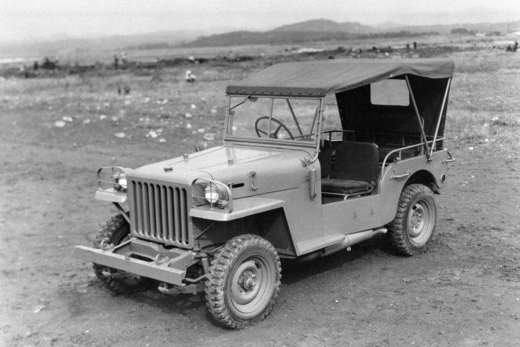 ランクルの源流となった「トヨタジープ」(BJ型/1951年)