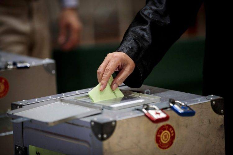今年11月の投開票が有力視されている次期総選挙(時事通信フォト)