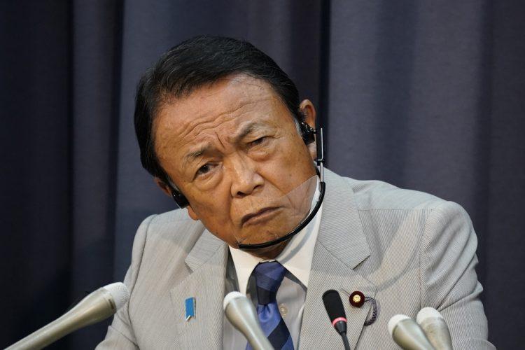 麻生太郎・副総理(写真/共同通信社)