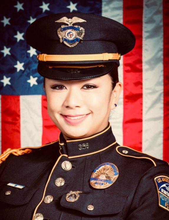 入校から半年でポリスアカデミーを卒業、正式に警察官となった