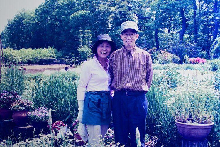 最愛の夫を失った悲しみを癒したのもまた、庭だった(写真/森田光江さん提供)