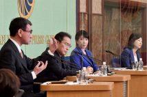 河野氏の「増税」と「脱原発」に質問集中 総裁選討論会