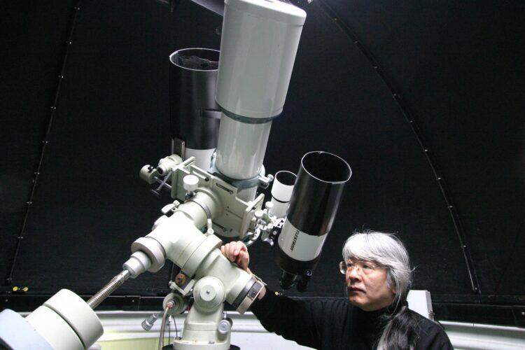 「FM電波」地震予測を発信する天文研究者の串田嘉男氏(写真/本人提供)