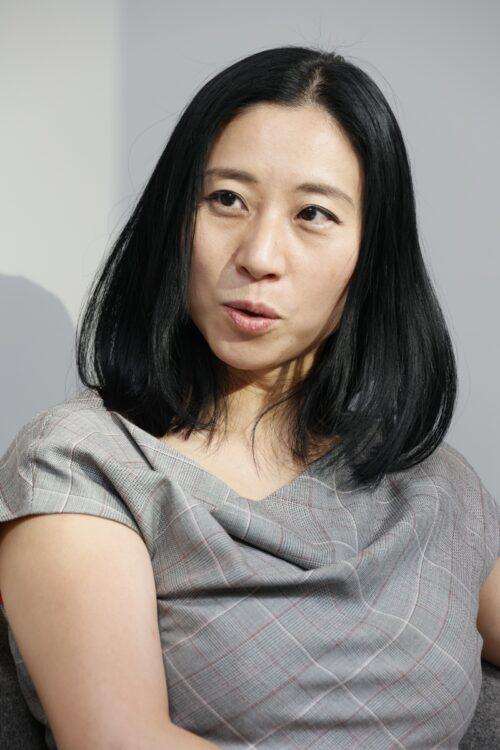 座談会に参加した国際政治学者の三浦瑠麗氏