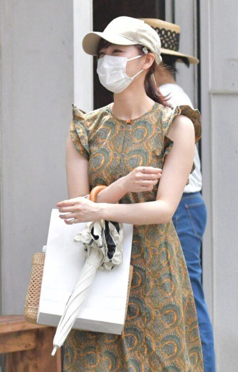 新井恵理那アナを目撃