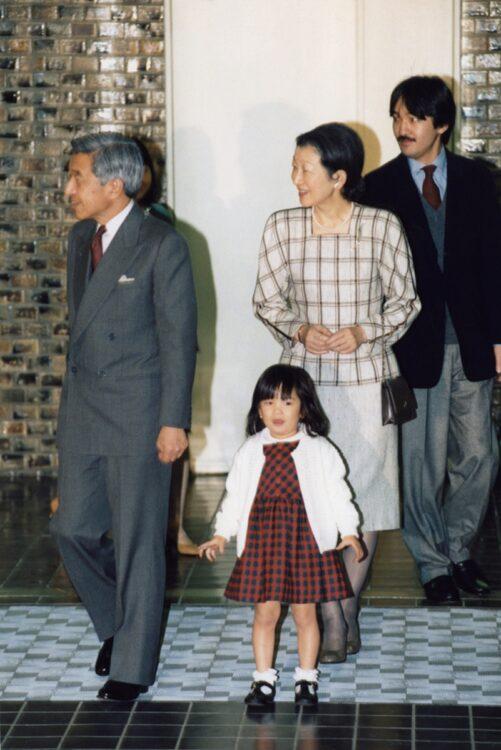 紀子さまが佳子さまを出産