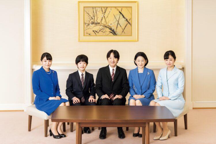 秋篠宮家5人の写真はこれが最後になると思われる