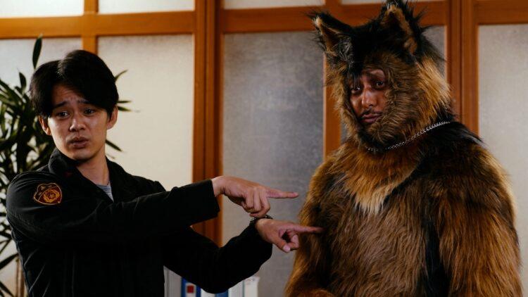 警察犬オリバー役での出演は放送開始まで伏せられていた (c)NHK