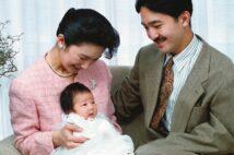 1991年12月17日、東京・元赤坂の秋篠宮邸にて(写真/宮内庁提供)