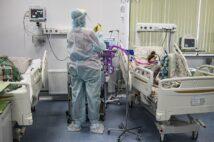 1日の感染者数、死者数が過去最多を更新したロシア(写真/アフロ)